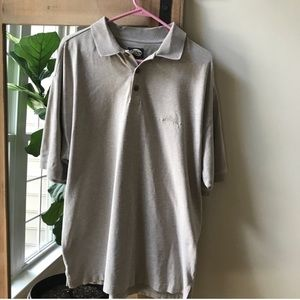 Tommy Bahama polo shirt with ribbed collar